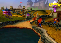 Fake Crash in Crash Bandicoot 3