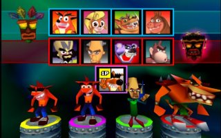 Fake Crash in Crash Bash
