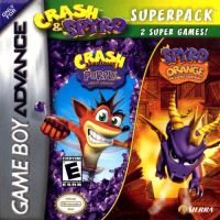 Crash Bandicoot Purple: Ripto's Rampage and Spyro Orange: The Cortex Conspiracy Superpack Combo